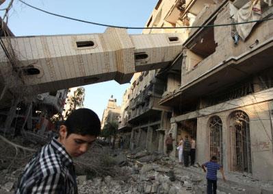 المساجد في قلب المعركة: تدمير المقدّس