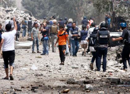 إسرائيل تهدد الصحافيين الأجانب