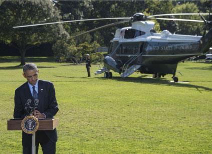 أوباما: سنفعل كلّ ما هو ضروري لهزيمة «داعش»
