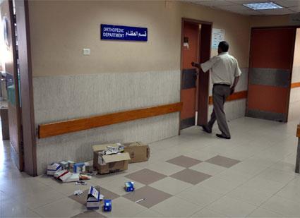 مستشفيات غزة بلا نظافة!