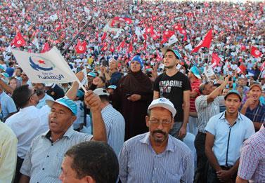 الناخبون يسائلون «النهضة» غداً عن علاقاتها بـ «أنصار الشريعة»