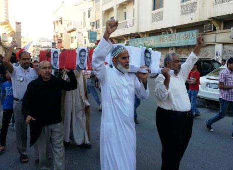 البحرين: السلطات تحتجز  جثة متظاهر خشية اقتحام «اللؤلؤة»