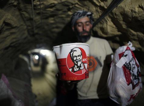 أنفاق «دليفري» الى غزّة