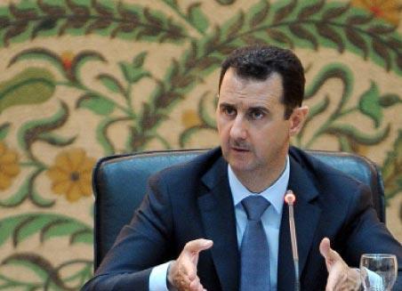 الأسد: حزب الله يدافع عن المقاومة فــي القصير