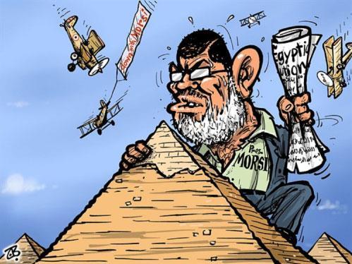 «الجزيرة» ♥ مرسي... والآخرون «مش أوي»
