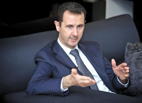 الأسد يعلن الدولة الفرنسيّة عدوّة للشعب السوري