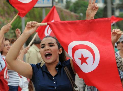 شعب تونس مع سوريا.... وحكامها ضدها