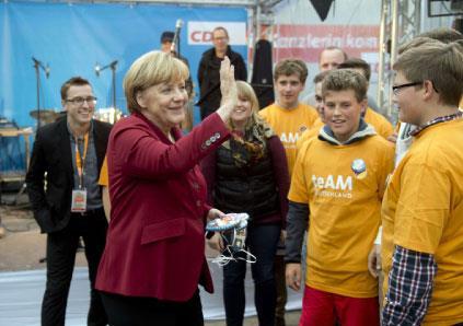 ألمانيا | غياب المنافسين يعزز الحظوظ الانتخابيّة لميركل
