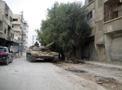 القلمون: خزان مقاتلي الغوطة