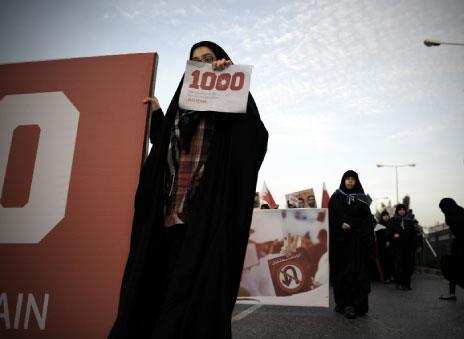 البحرين:  1000 يوم ثورة
