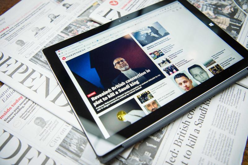 صحافة الإنترنت قد تكون هي الحلّ، لكنها تصبح في بلادنا أبواقاً لأنظمة الخليج