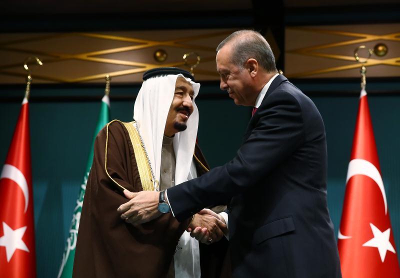 قلّد الرئيس التركي ضيفه أعلى وسام يعطى للقادة الأجانب