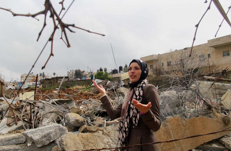 دعوى الأراضي الخضراء ينفيها منْع الاحتلال المقدسيين من البناء في الأماكن المفترض أنه «مسموح بالبناء فيها»