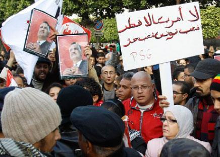 تونس: انقسام في ذكرى الثورة