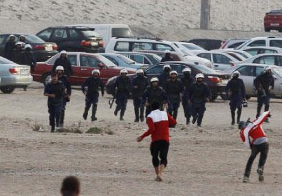 عام على انتفاضة البحرين