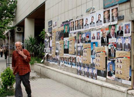 الانتخابات البرلمانية السورية  تجربة اقتراعية جديدة وحملات تشويه بصري