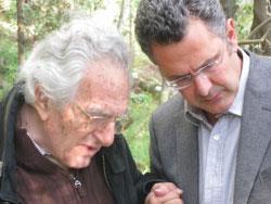 غسان تويني... اللقاء الأخير