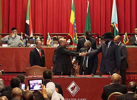 «اتفاق التعاون» بين السودانين  لا يحسم قضيتي أبيي والحدود