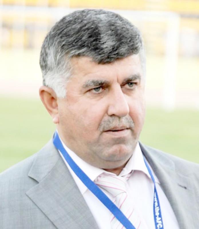 رئيس الاتحاد العراقي لكرة القدم عبد الخالق مسعود (أرشيف)