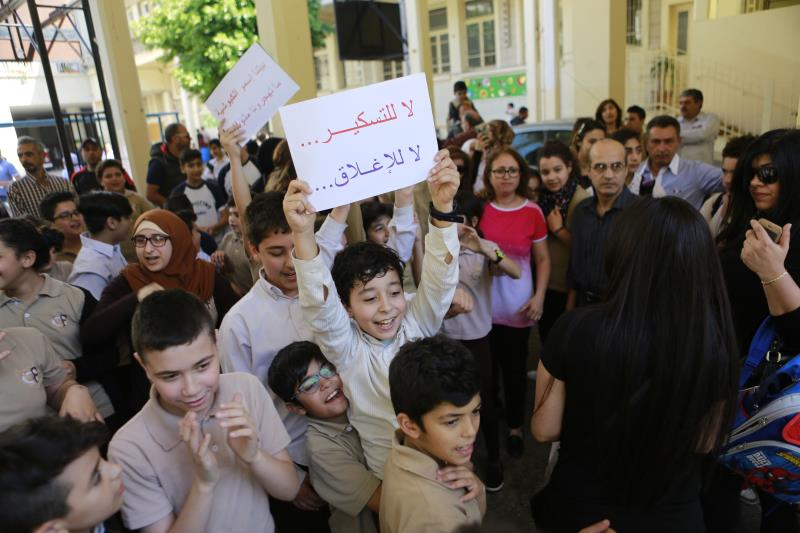 تضم المدرسة 377 تلميذاً وقد يكون هناك صعوبة باستيعابهم في الفروع الأخرى (مروان طحطح)