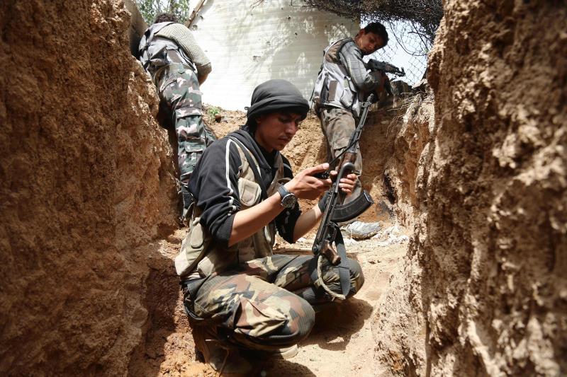 لعبت «حركة أحرار الشام» دوراً أساسياً في فتح المعارك الأخيرة (أ ف ب)