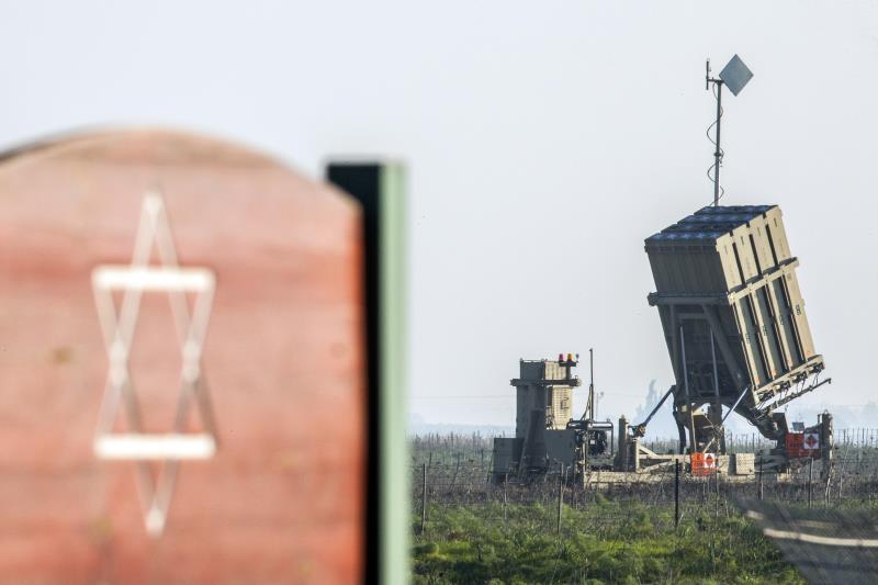 الشركة الهندية شريكة لشركة تصنيع نظام القبة الحديدية لجيش العدو (أ ف ب)