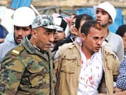 عصابات مبارك يسعون بالمجازر إلى تجنيبه الرحيل اليوم