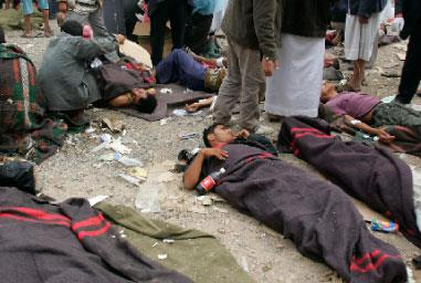 النظام اليمني يصعّد والشارع يغلي: عشرات القتلى والجرحى في صنعاء وعدن