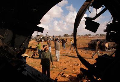 التحالف العربي والغربي يمطر ليبيا بالصواريخ: بدأ الحظر الجوّي