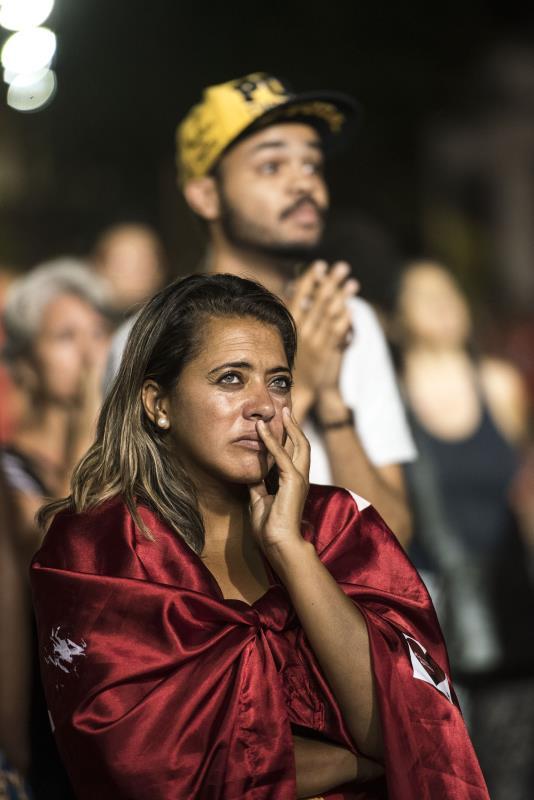 نجحت المعارضة البرازيلية في الحصول على أكثر من أغلبية الثلثين اللازمة لبدء محاسبة الرئيسة ديلما روسيف أمام مجلس الشيوخ (أ ف ب)