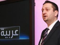 «الأخبار» في استديوهات «سكاي نيوز عربية»