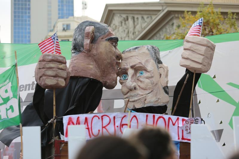 محتجّون على سياسة ماكري في ذكرى انقلاب 1976