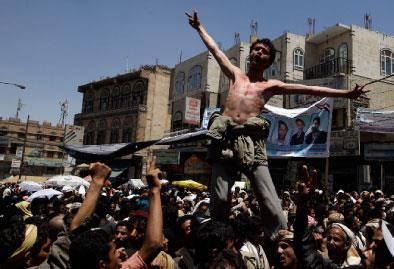 القبيلة في اليمن:  فزّاعة لإطالة حكم صالح