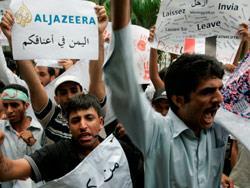 «الجزيرة» صامدة في اليمن... وخجولة في درعا