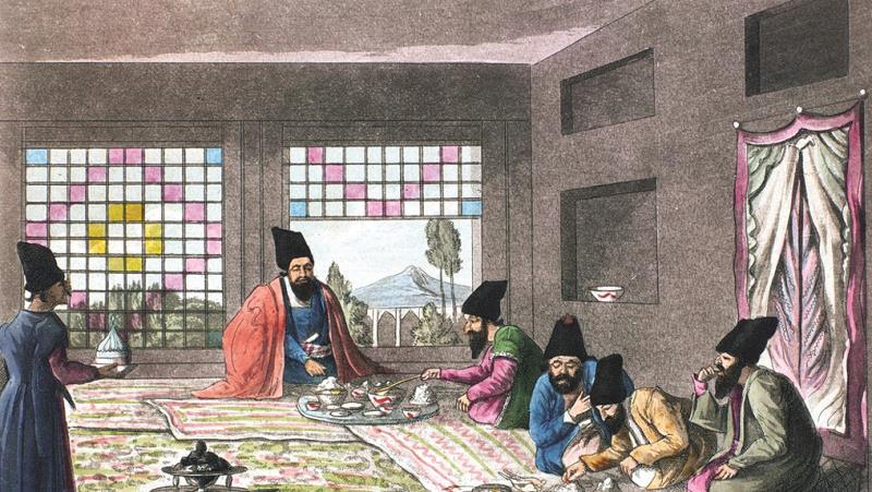 «رحلة  إلى قسطنطينية عبر بلاد فارس، وأرمينيا، وآسيا الصغرى»