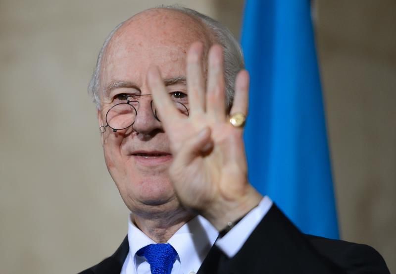 أكد دي ميستورا أهمية لقاء «مجموعة الدعم الدولية» لتعزيز اتفاق «الهدنة»
