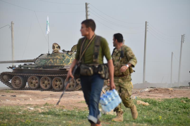 فشل «جيش الإسلام» في السيطرة على نقاط الجيش في منطقة بالا (الأناضول)