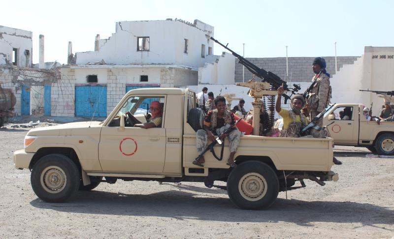 أشرف الفريق علي محسن الأحمر على العمليات ضد «القاعدة» (أ ف ب)