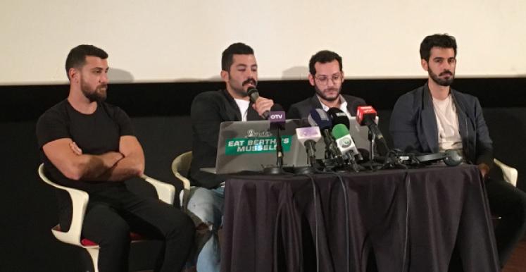 كارل جرجس وفراس أبو فخر وحامد سنّو وهايغ بابازيان في «متروبوليس» أمس
