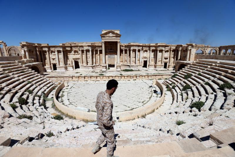 شهد هذا المدرّج إعدام 26 جندياً سورياً