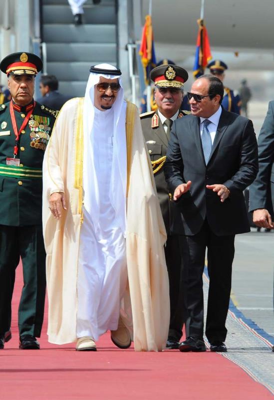 سيتوجه سلمان إلى تركيا بعد انتهاء زيارته مصر (أ ف ب)