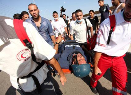 فلسطين | الصحافيون هدف «محبب» لرصاص الجنود الإسرائيليين