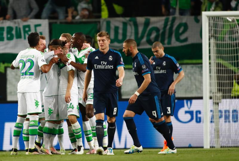 لم يصدق أحد ما حصل في مباراة ريال مدريد وفولسبورغ (أود أندرسن ــ أ ف ب)