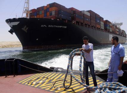 رد | مصر: الجدوى الاقتصادية لمشروع قناة السويس    الجديدة   [1/2]