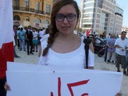 عكار مَنّا مزبلة: قمامتكم لن تمرّ