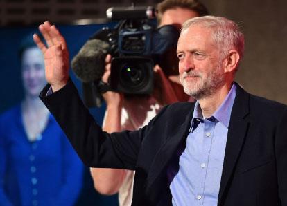 جيريمي كوربن زعيماً لـ«العمال» البريطاني