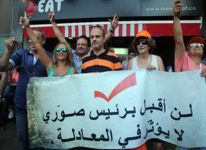 حاجة للمتظاهرين والأمنيين معاً! الياس السخن «مكبّر صوت» التيار