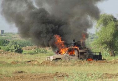 خسائر بالجملة للجيش السعودي على الحدود