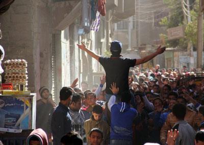 حين تتظاهر مصر الأخرى | يوم هادئ في المطرية