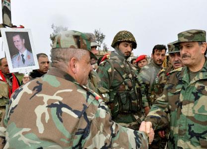 ضباط أجانب يقودون المعركة من داخل سوريا